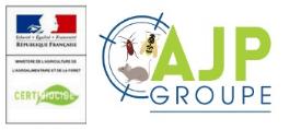 AJP GROUPE 78 – Yvelines – Dératisation, Désinsectisation, Désinfection rats-guêpes-punaises de lit Logo